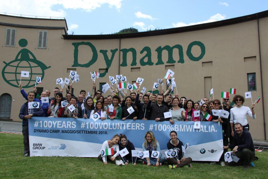 100 volontari per Dynamo camp