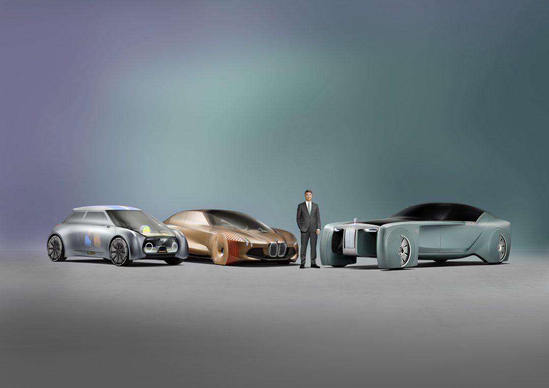 L'immagine del futuro del BMW Group