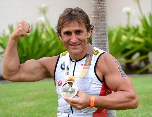 Zanardi e il triathlon una passione che si rinnova nel 2017