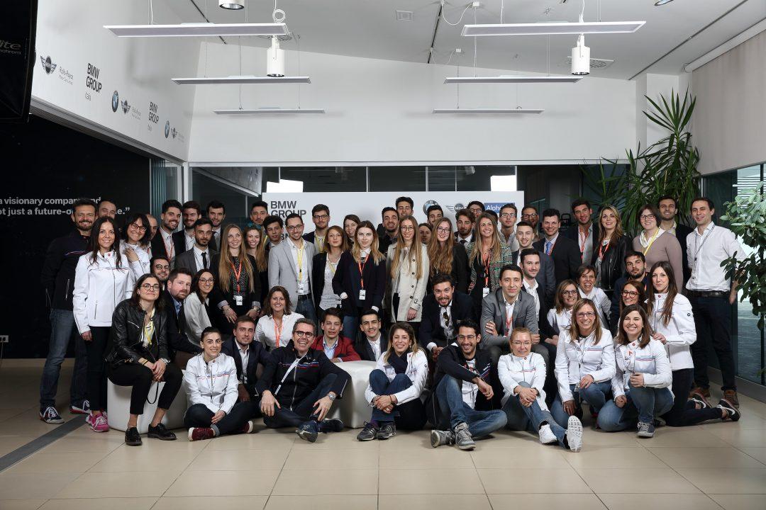 100 giovani studenti e neolaureati al primo BMW Group Italia Open Day. #BMWOpenday