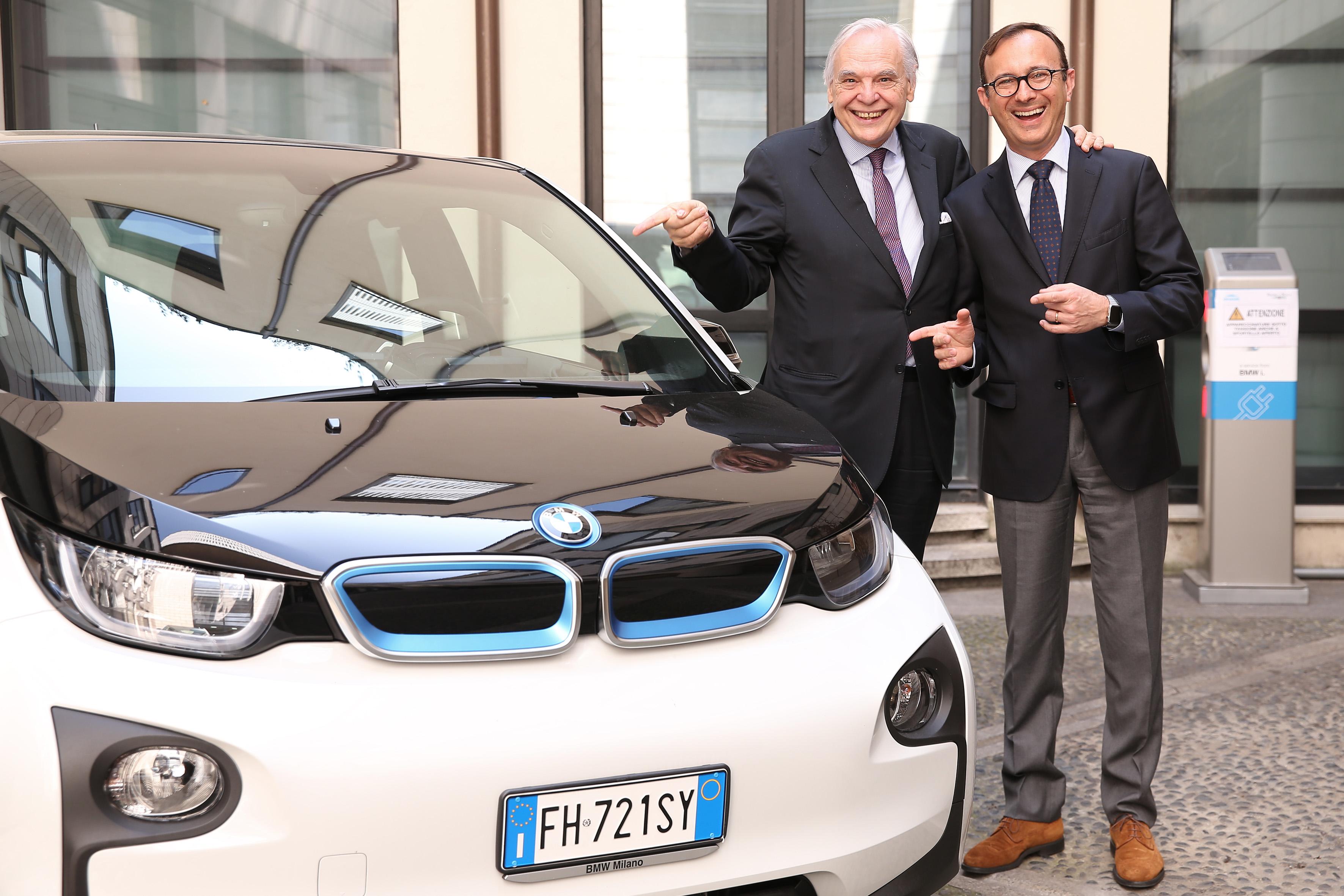 Tre BMW i3 per il Teatro alla Scala di Milano