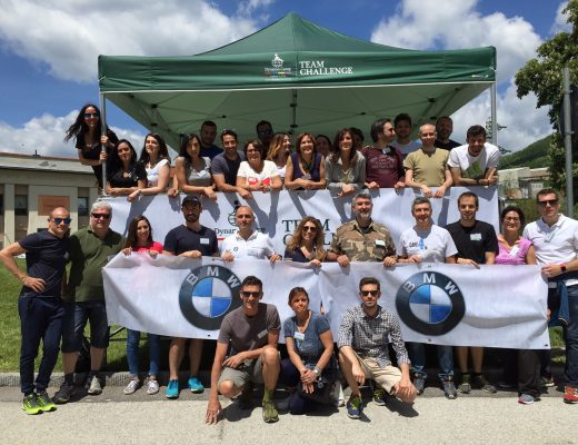 I collaboratori di BMW Group Italia volontari al Dynamo Camp