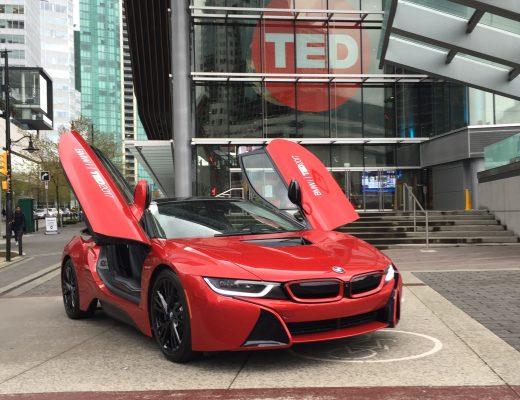 BMW i8 e TED