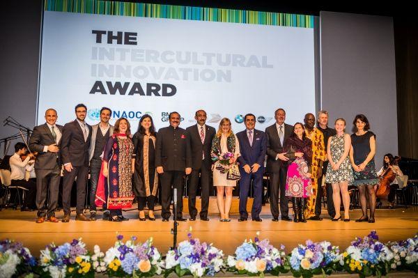 The Intercultural Innovation Award - Dottoressa Giusti
