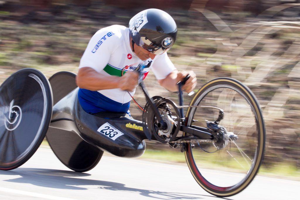 Alex Zanardi - mondiali paraciclismo Sudafrica