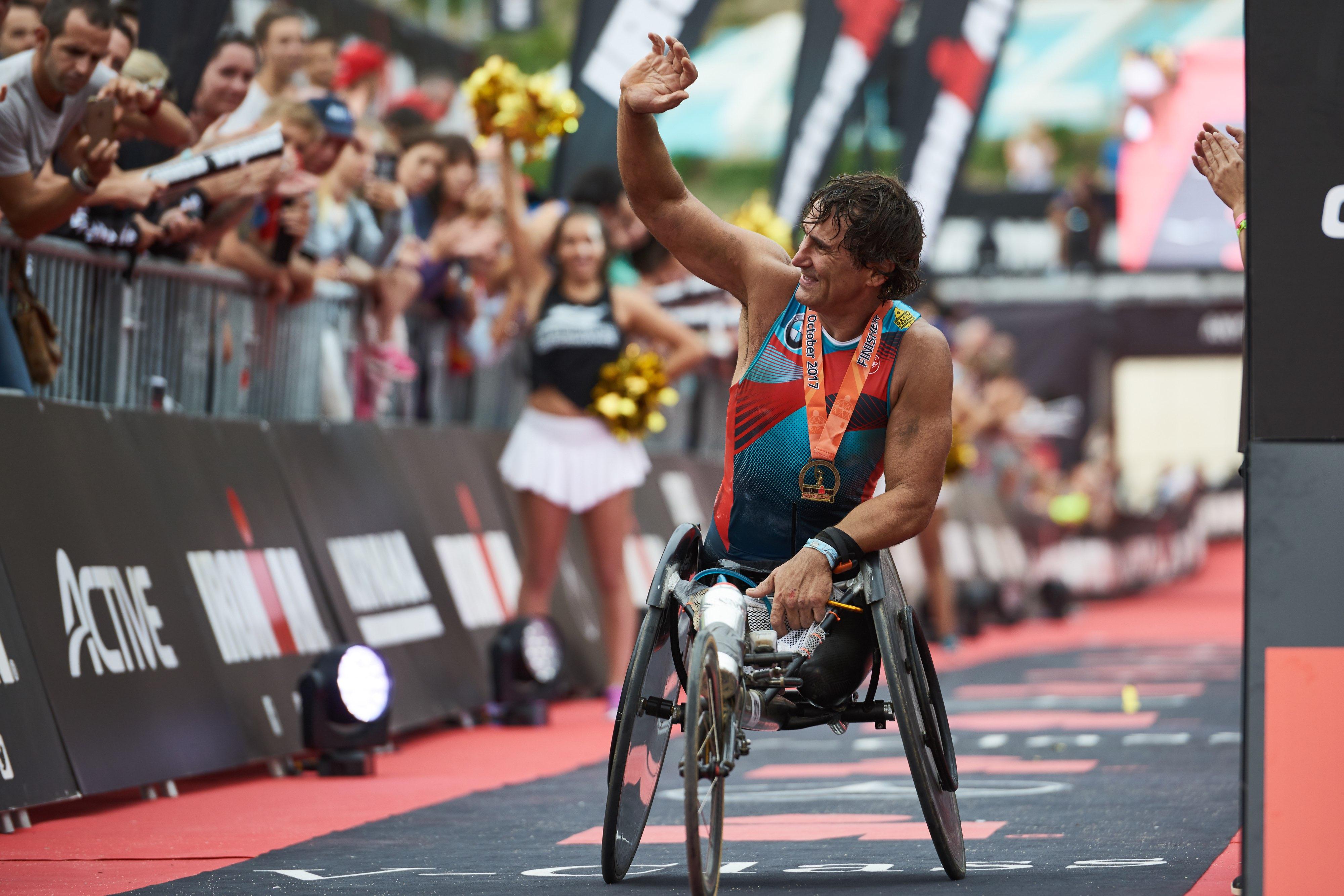 Zanardi Ironman Barcellona 2017