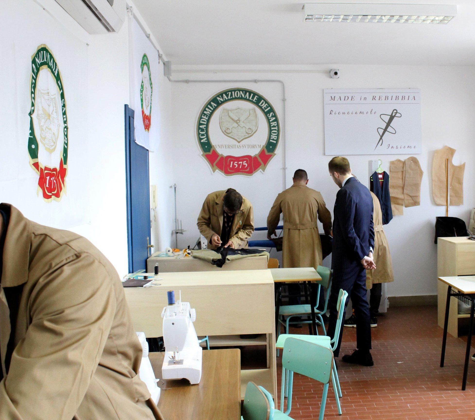 Made in Rebibbia, il progetto di rieducazione dei carcerati supportato da Bmw Roma