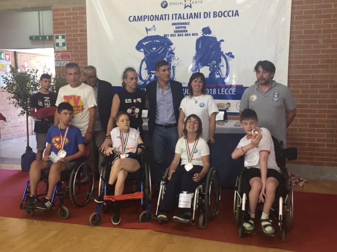 Carlotta Visconti protagonista dei primi Campionati italiani di Boccia Paralimpica