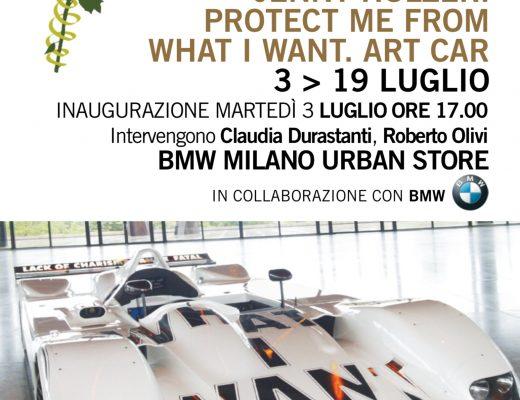 La Art car di Jenny Holzer dal 3 luglio in esclusiva al Bmw Urban Store di via De Amicis a Milano