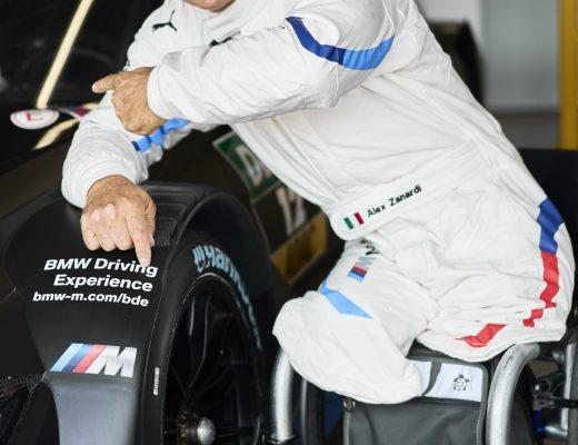 Alex Zanardi e BMW stanno preparando la gara del DTM a Misano