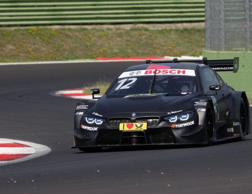 Alex Zanardi ha completato 294 giri al volante della BMW M4 DTM