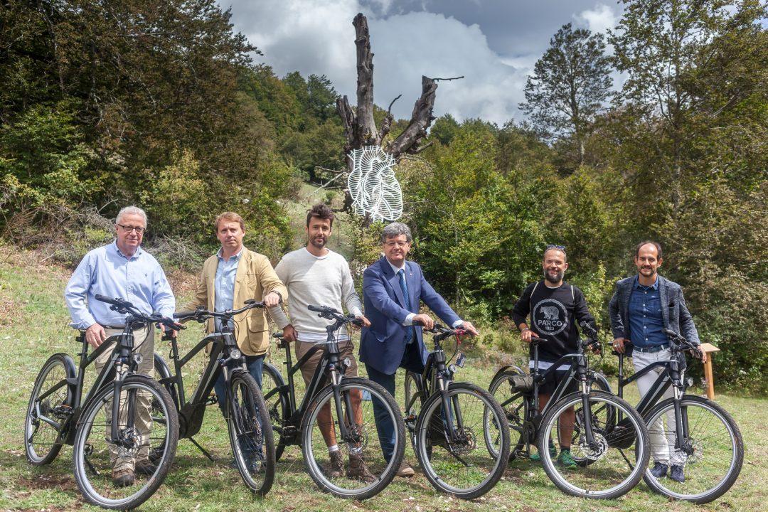 ARTEPARCO un cuore d'autore da visitare con le BMW e-Bike