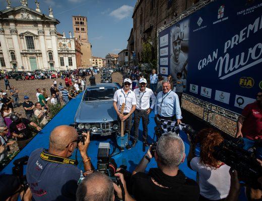 GRan Premio Nuvolari, la BMW 3.0 CSL di Solero-Saturnino arriva 154esima