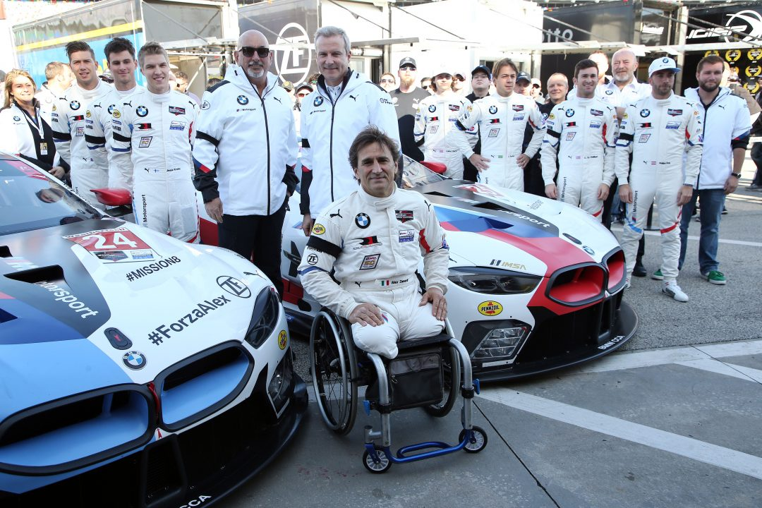 Alex Zanardi racconta la 24 Ore di Daytona