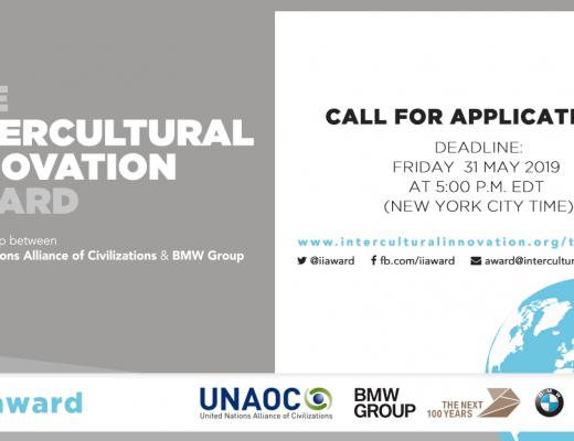 UNAOC e il BMW Group lanciano la ricerca di progetti innovativi per promuovere il dialogo e la comprensione interculturali