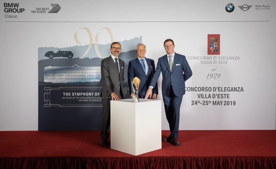 La sinfonia dei motori dal 24 maggio a Villa d'Este per il concorso di eleganza 2019.