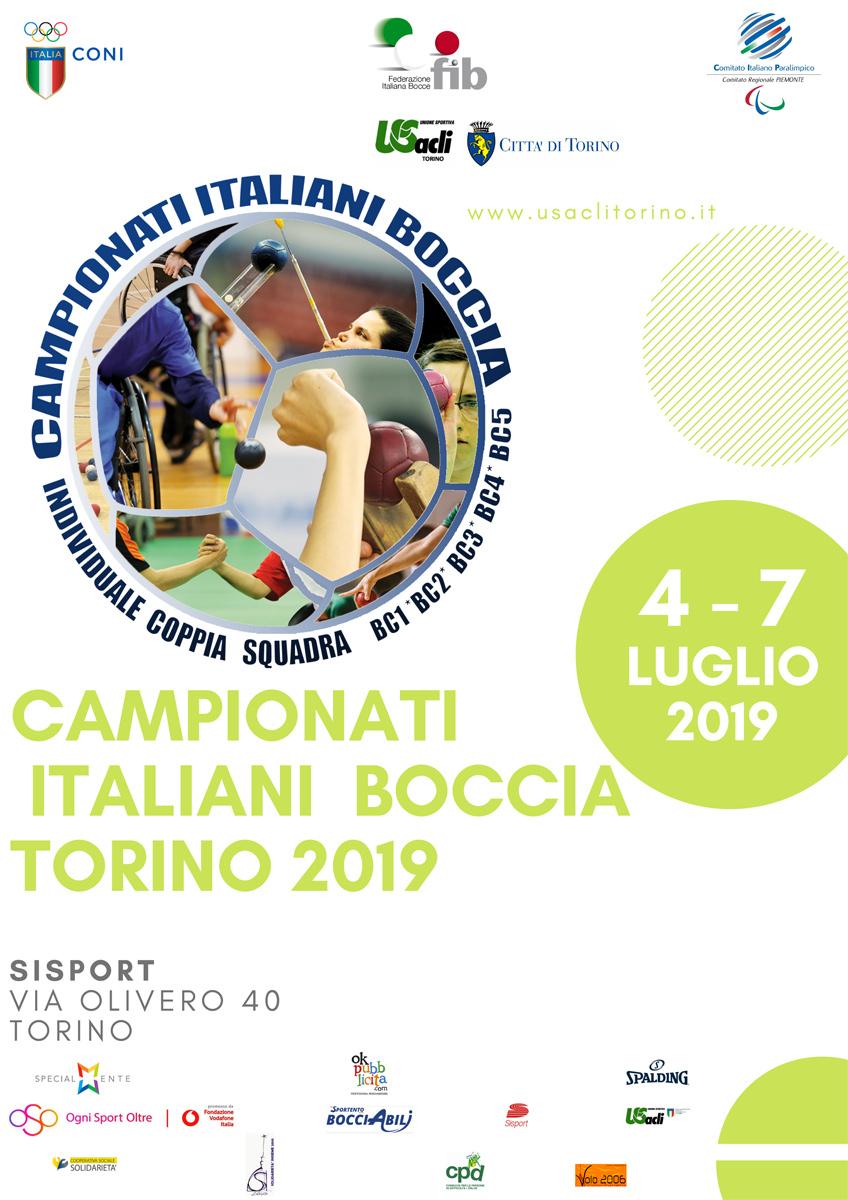 Assegnati i titoli italiani di Boccia Paralimpica a Torino