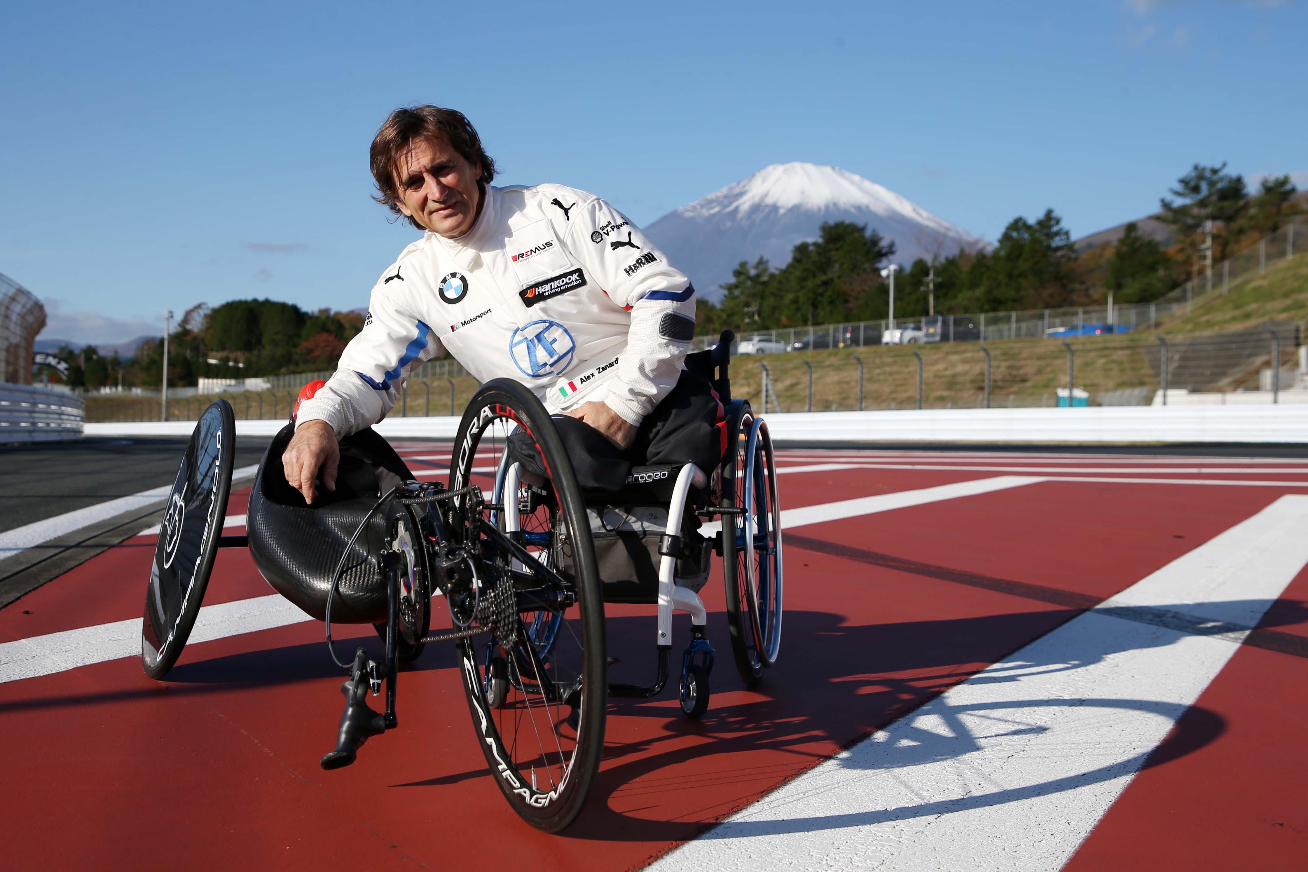 Fuji International Speedway: Zanardi si allena per Tokyo 2020