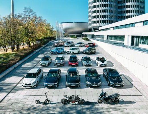 BMW Group verso un milione di veicoli elettrificati nel 2021