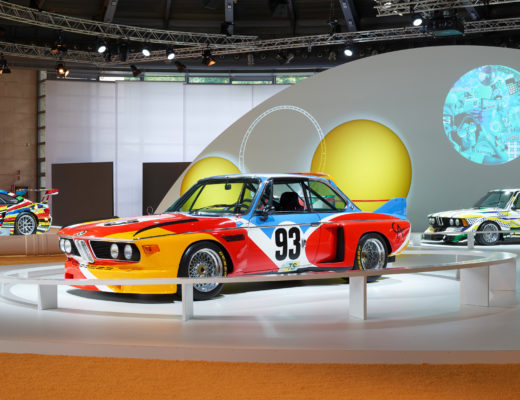 BMW alla Milanesiana 2020 con la Art Car di Calder