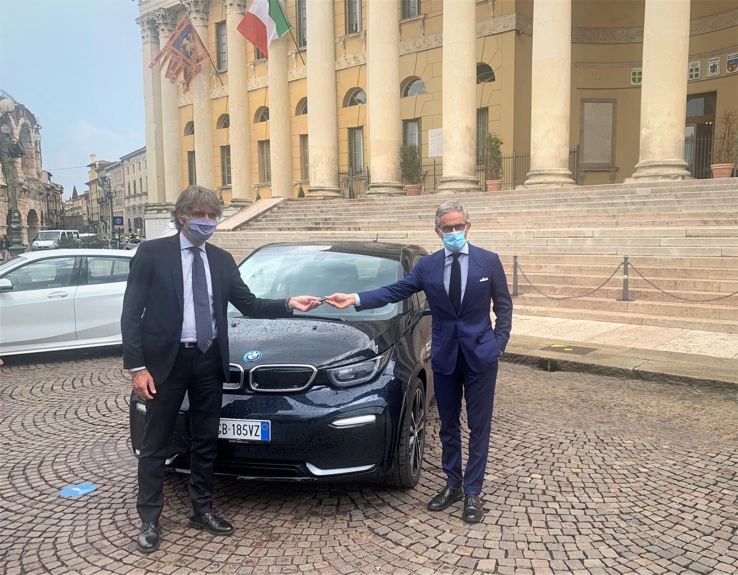 BMW Italia al fianco del Comune di Verona per la mobilità sostenibile