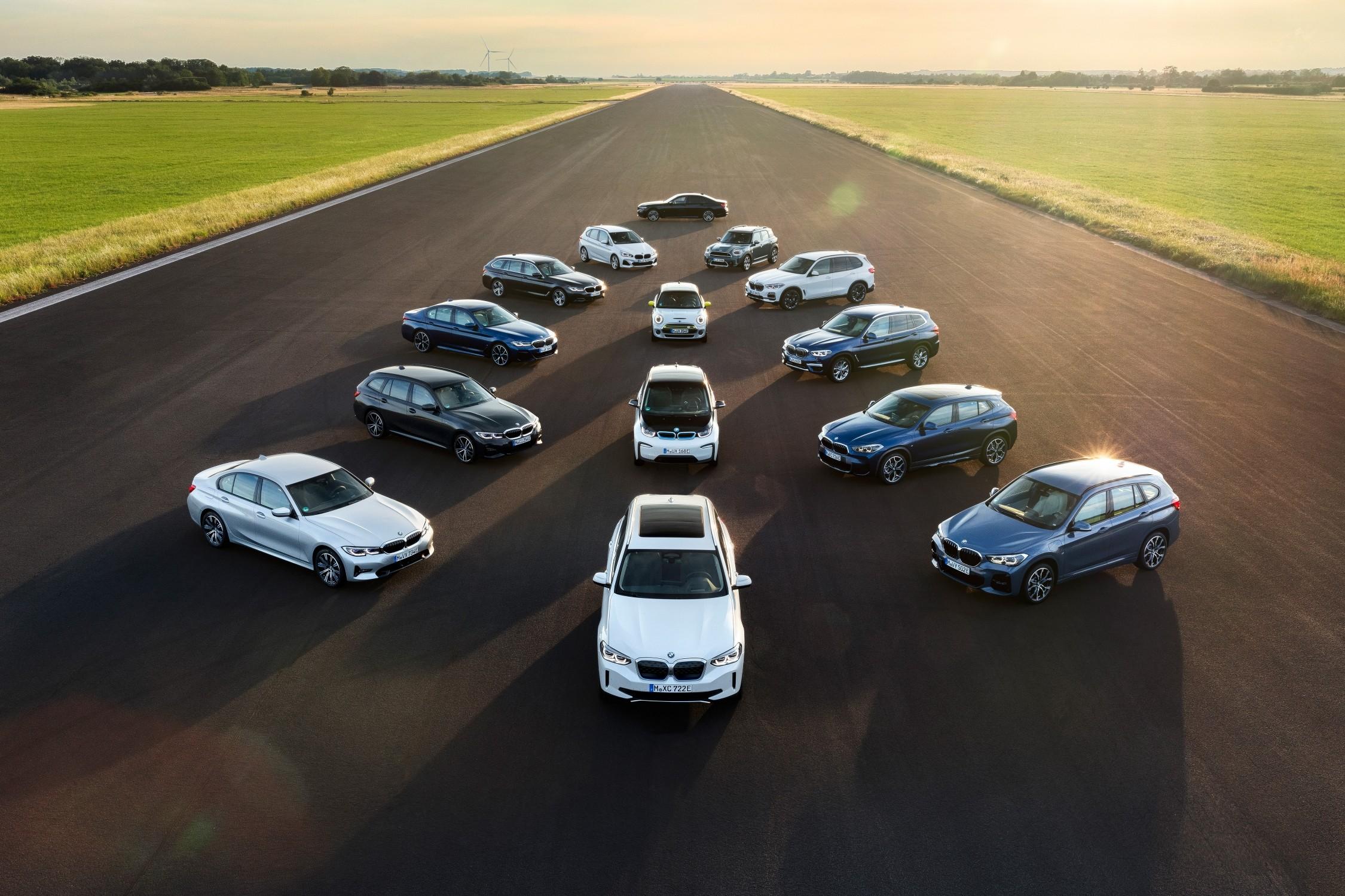 BMW Group: obiettivo 7 milioni di veicoli elettrificati nel 2030