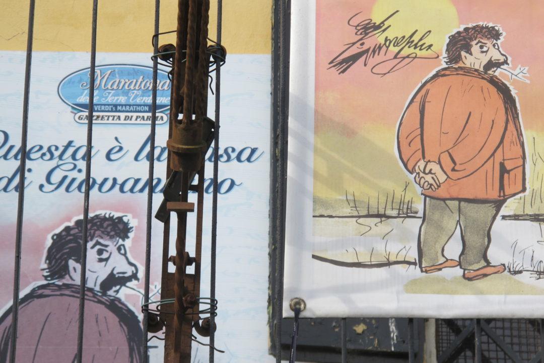 Racconto di Giorgio Terruzzi su Guareschi per il progetto Prendi la targa