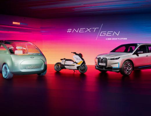 Prototipi mobilità elettrificata BMW Group
